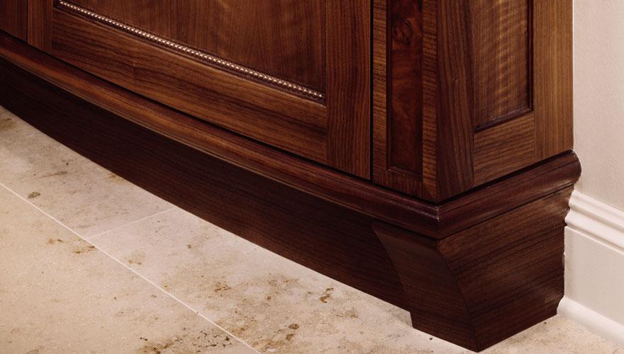 Natural Beauty Refrigerator Foot Detail