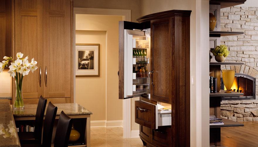 Natural Beauty Refrigerator Open
